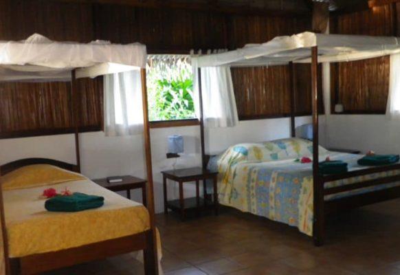 Chambre intérieur Bungalow Familial