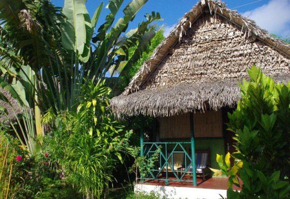 Vue extérieur bungalow familiale Lakana Hotel