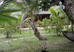 Jardin des bungalows familiale Sainte Marie