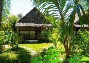 Extérieur jardin bungalow familiale