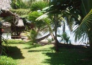 Vue de mer bungalow Lakana hotel
