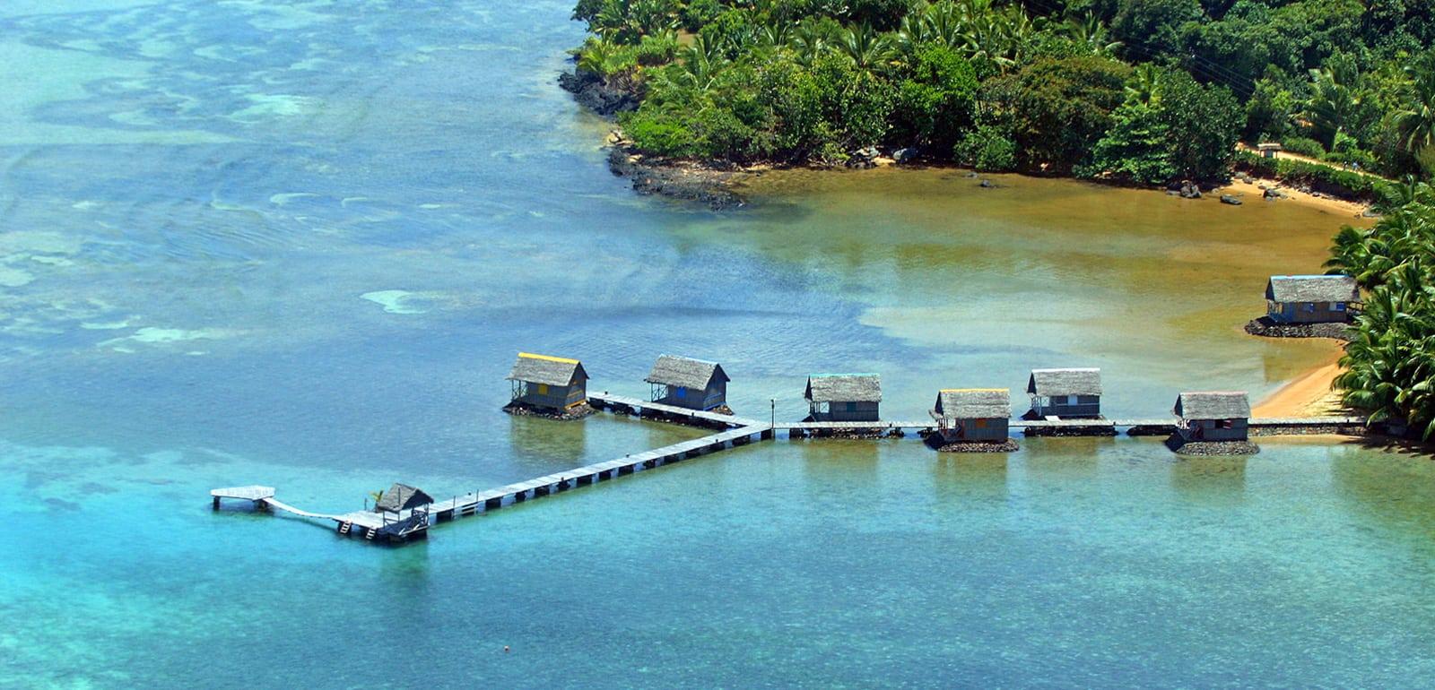Vue aérienne Lakana Hotel Sainte Marie