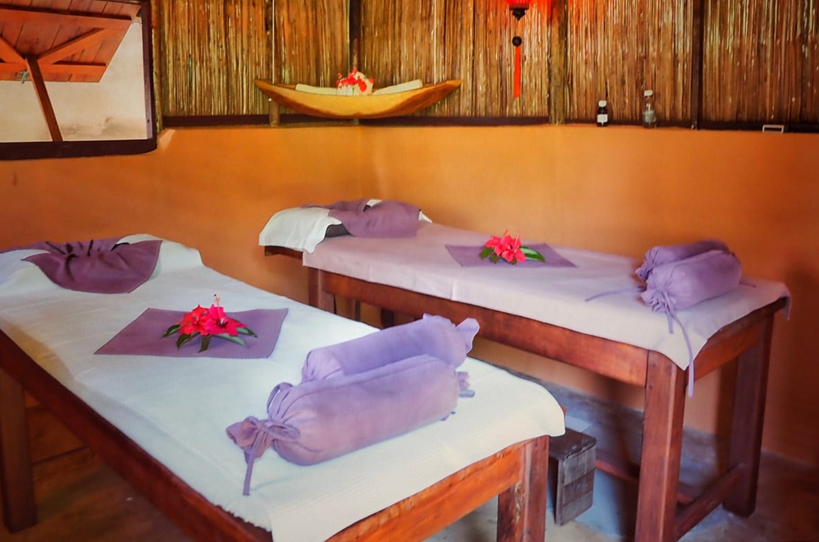 Salon de massage jardin -